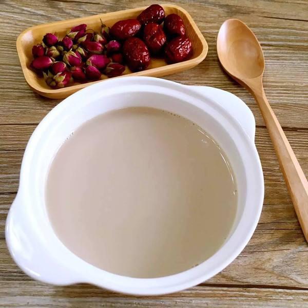 红枣黄豆浆