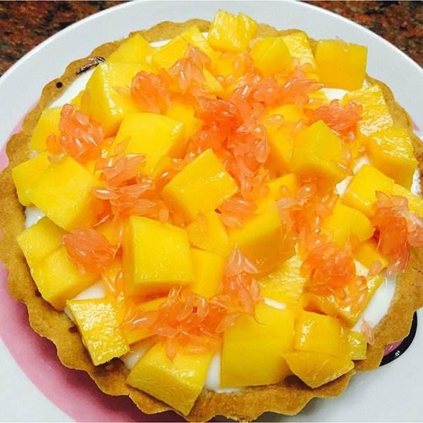 #爱美食#芒果奶酪