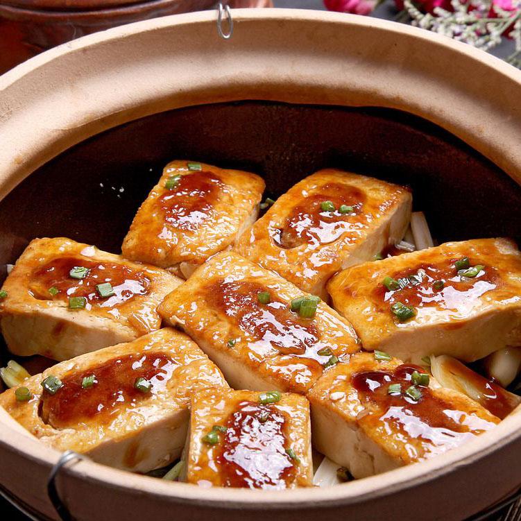 美味的砂锅豆腐