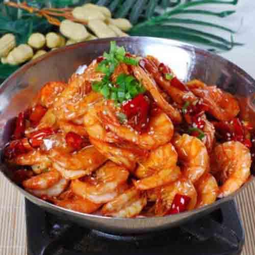 美味干锅虾