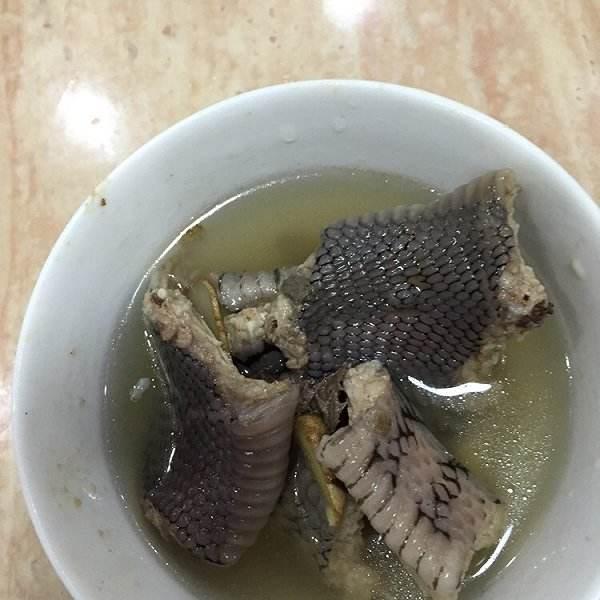 香喷喷蛇肉汤