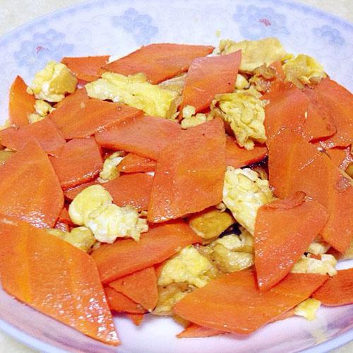 家常胡萝卜炒鸡蛋