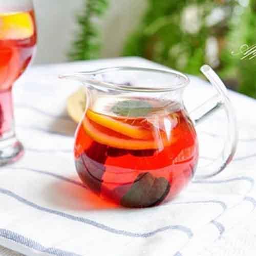 美味玫瑰柠檬茶