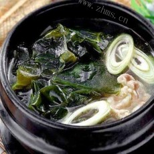 鸡肉豆腐海带汤