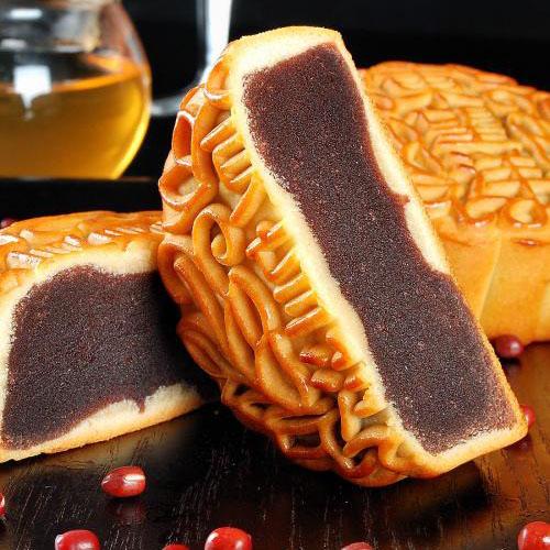DIY广式红豆沙月饼