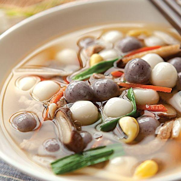 软糯萝卜汤圆