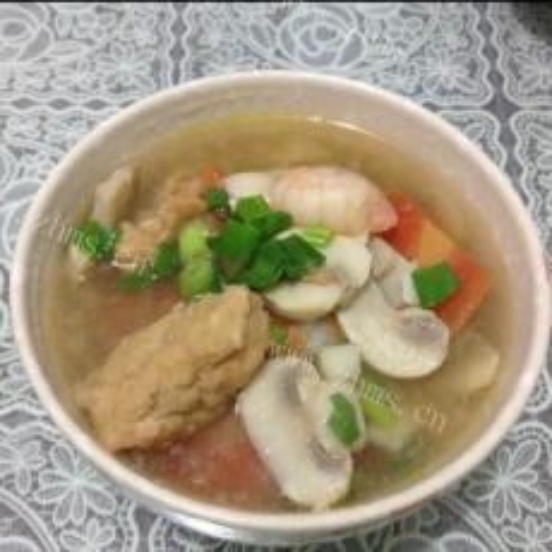 美美厨房之丸子汤
