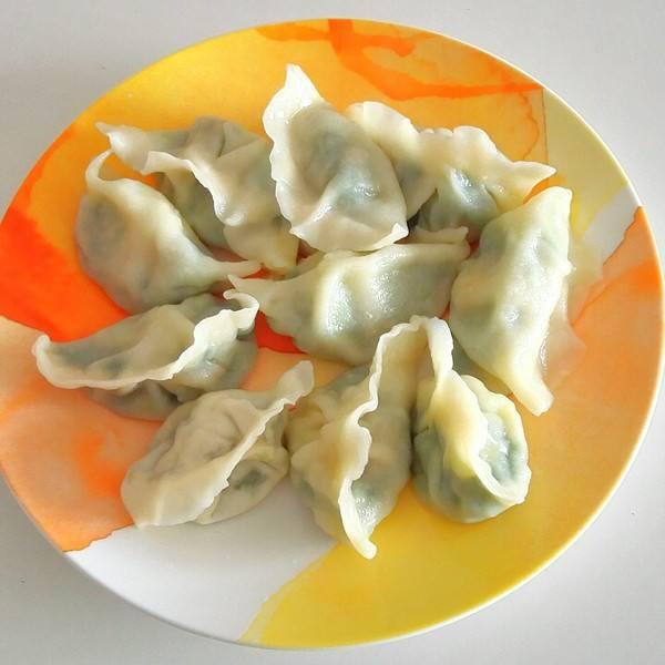 独特的茴香苗饺子