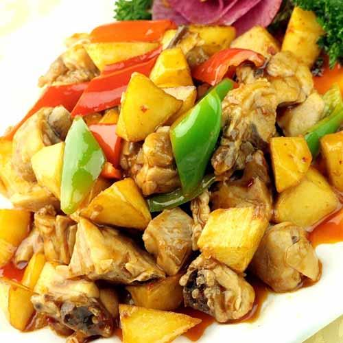 #爱美食#土豆烧鸡