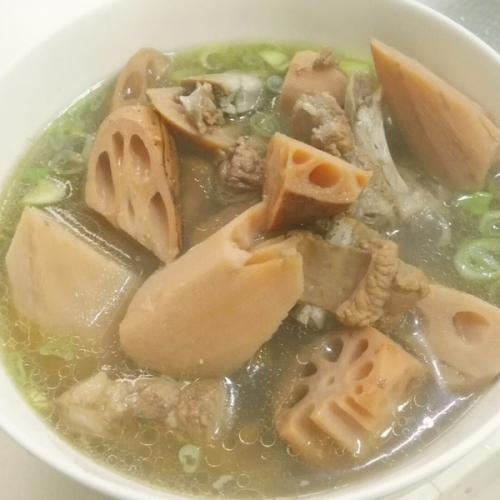 营养排骨藕汤