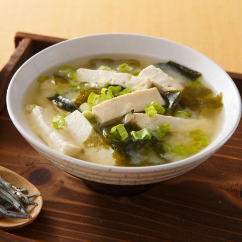 简单味增汤