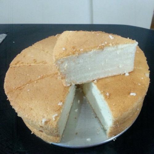 【DIY美食】天使蛋糕