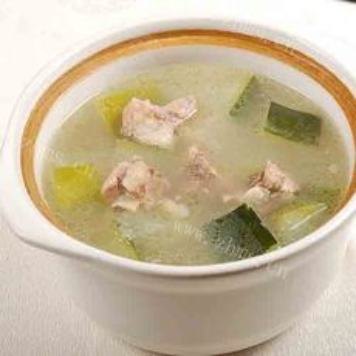 自制绿豆冬瓜排骨汤