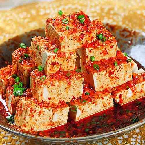 珍馐美味的香辣豆腐