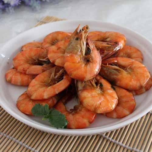 味道不错的红烧大虾