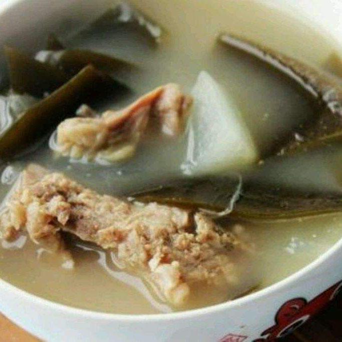 在家做的海带排骨汤