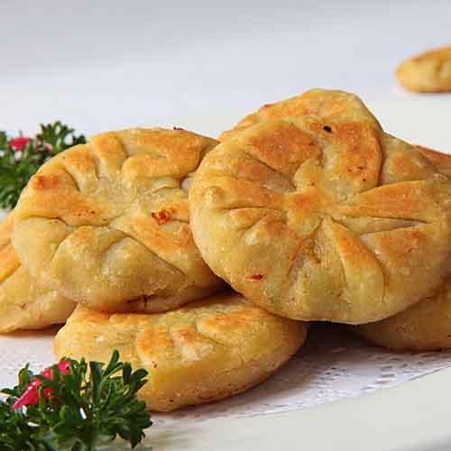 美味的家常土豆饼