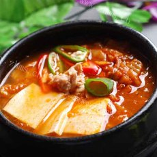 好吃的韩国泡菜汤