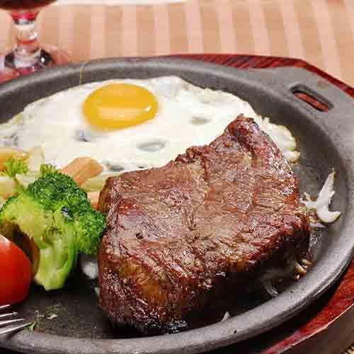 健康营养的牛排