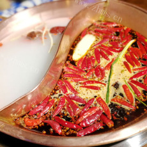 香喷喷的海鲜火锅