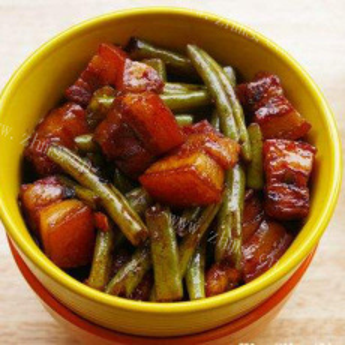 美味土豆豆角炖肉