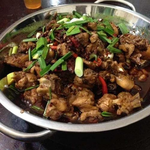 自制干锅鸡