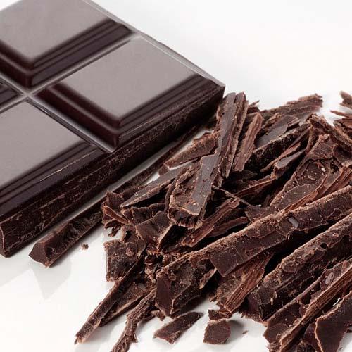 美味的黑巧克力