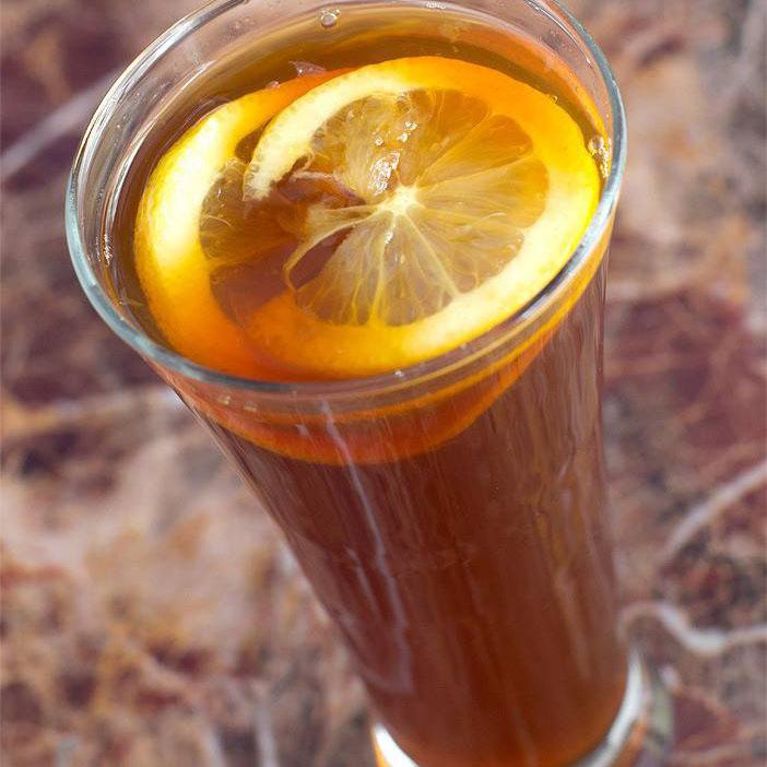 优雅至典的柠檬红茶