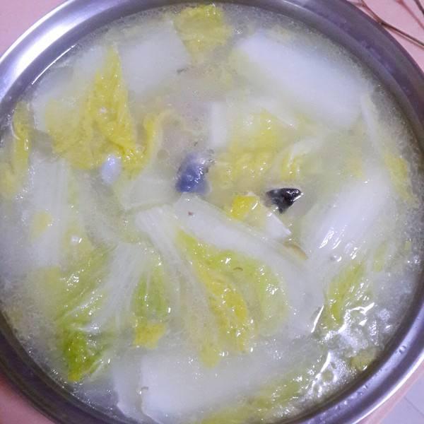 鱼头白菜汤