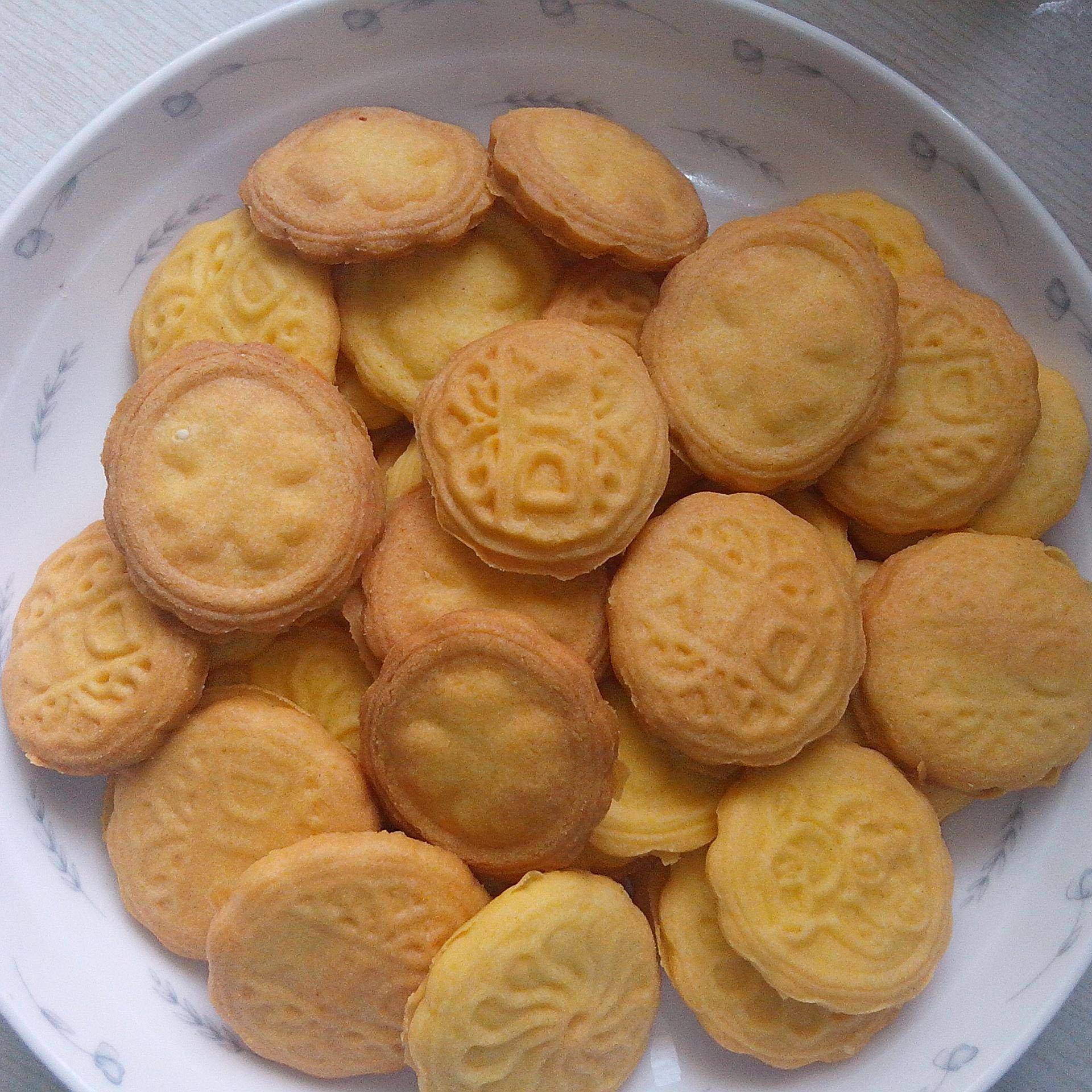 自己做的饼干
