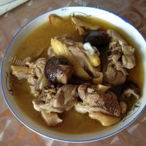 诱人的台湾麻油鸡