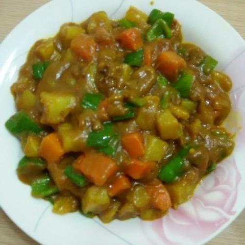 最爱的咖喱土豆