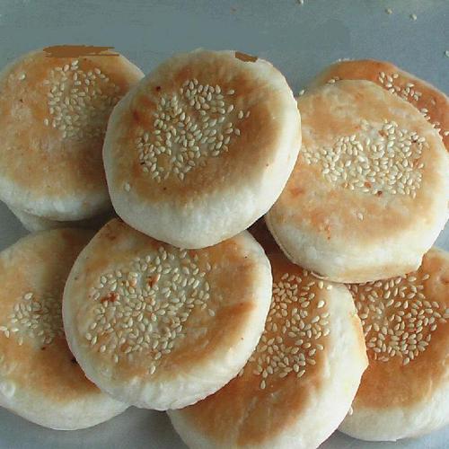 酥脆香酥板栗饼