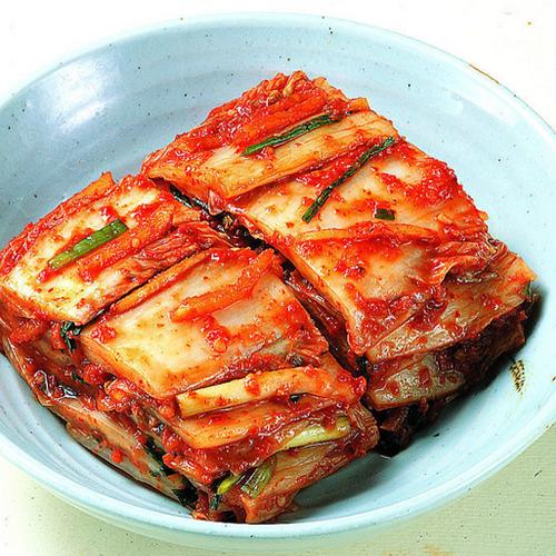韩国泡菜的制作方法