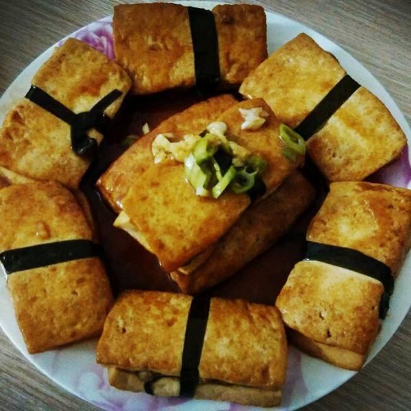 无锡名菜镜箱豆腐