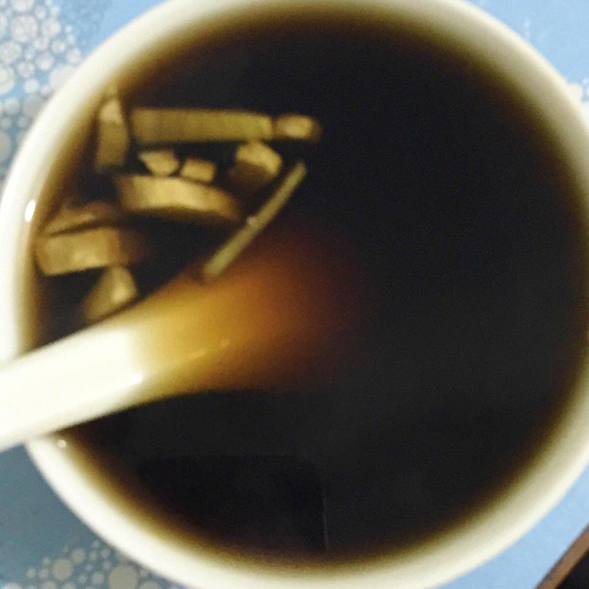 甜甜的可乐姜汤