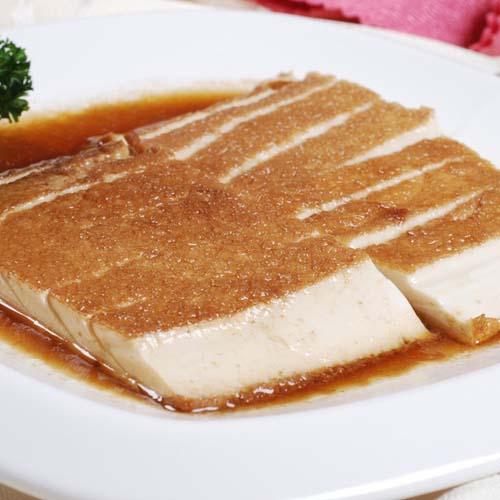 美味的卤水点豆腐
