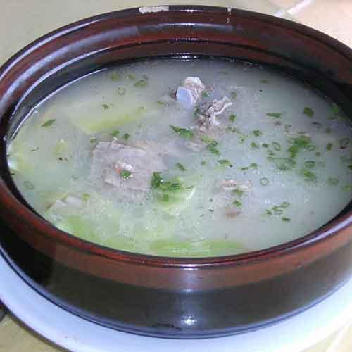 营养绿豆冬瓜排骨汤