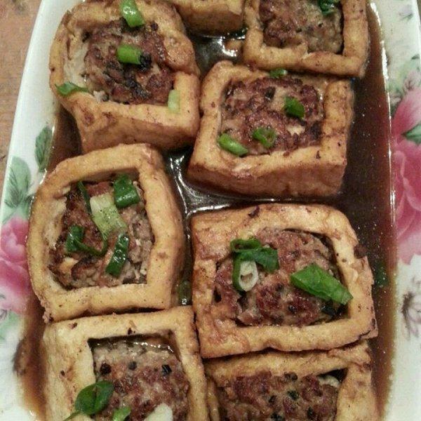 豆腐盒子 五彩炒饭