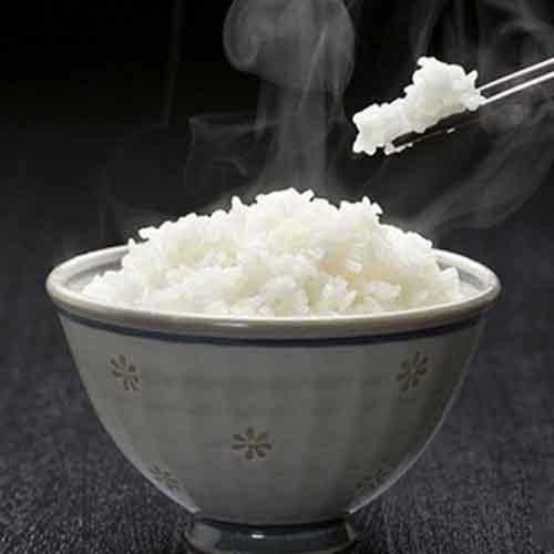 简单的微波炉蒸米饭