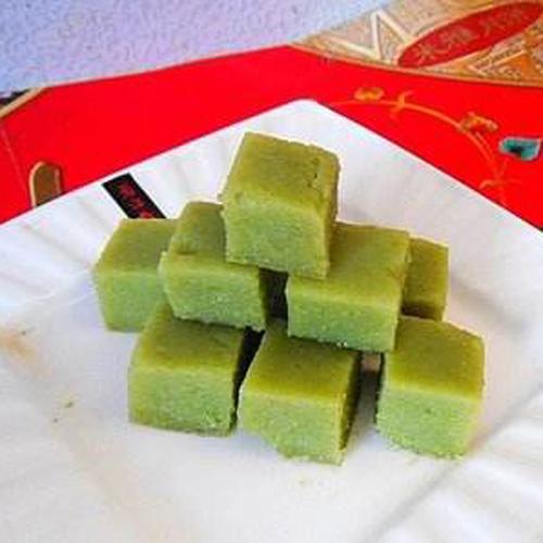 自制绿豆凉糕