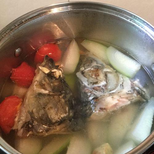 营养满分节瓜汤