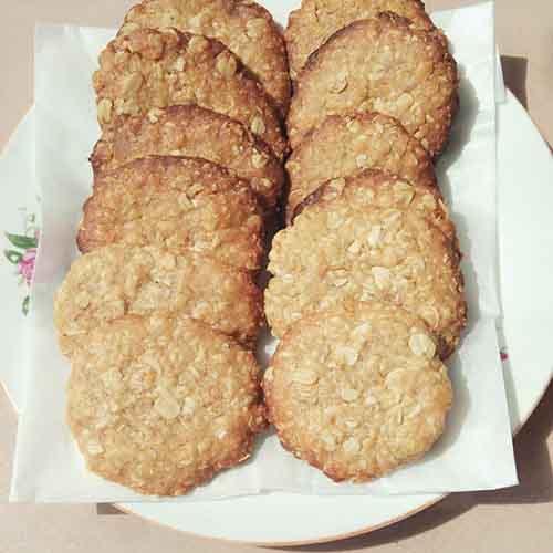 极致的燕麦饼干