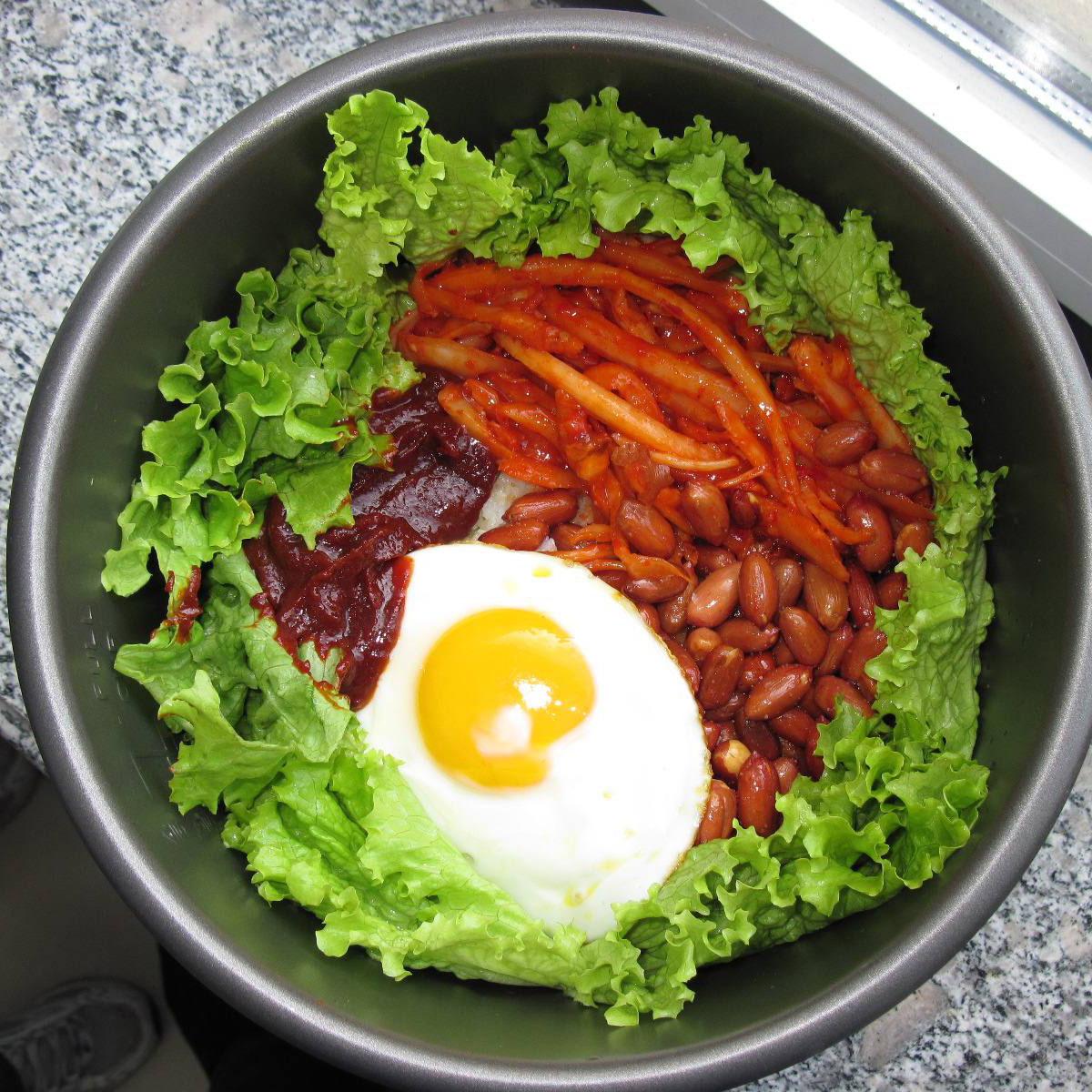 创意韩国拌饭