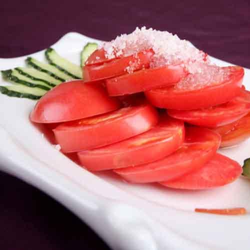 易做的糖拌西红柿