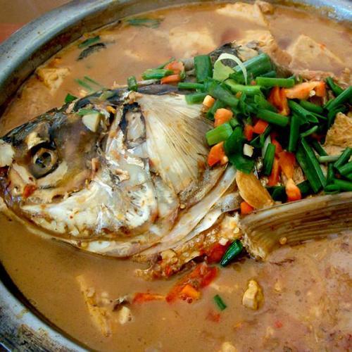 好吃的鱼头火锅