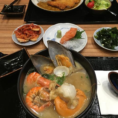 清淡的韩国菜