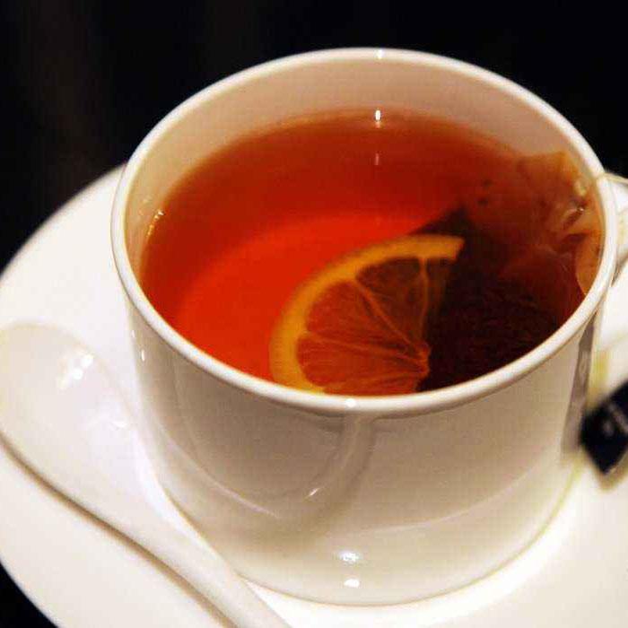 夏日必备的柠檬红茶