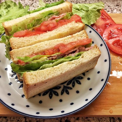 超健康鸡蛋沙拉三明治