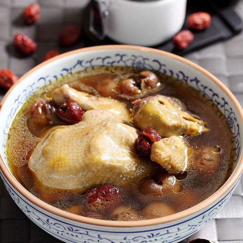 味道十足的鸽子汤